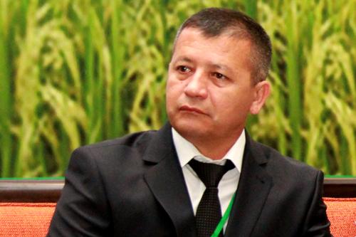 Mr. Ilyos Amanov, Deputy Chairman of the Board of OJSCB Agrobank, Uzbekistan