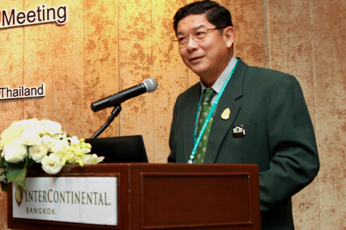 Mr. Luck Wajananawat, President of Bank for Agriculture and Agricultural Cooperatives (BAAC), Thailand
