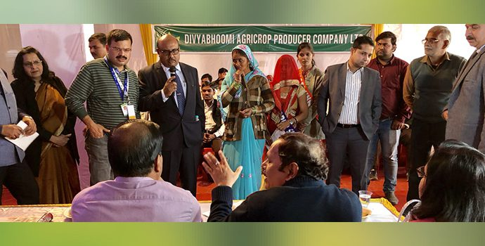 NABARD organized a field visits to study the Farmer Producer Organization in Agra, Uttar Pradesh, India for the delegates attending the APRACA 69th EXCOM meetings.