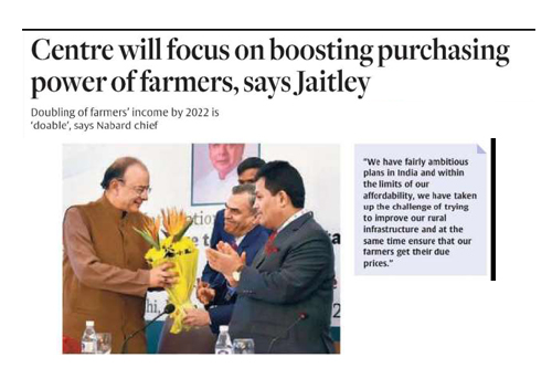 Centre will focus on boosting purchasing power of farmers, says Jaitley