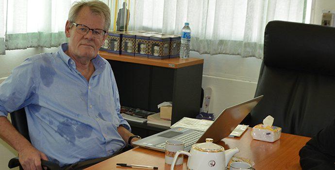 APRACA Secretariat hosting IFAD Supervision Mission during 22-26 January 2018.