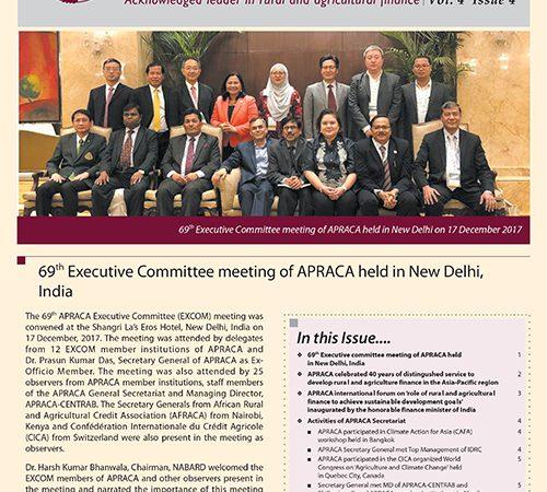 APRACA Newsletter Vol. 4 Issue 4