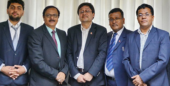 High Level Delegation from Ministry of Cooperative and Poverty Alleviation, Government of Nepal visited APRACA office on 19 February 2018.