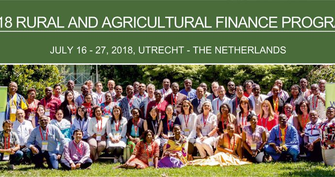 Boulder Rural and Agricultural Finance Programme (RAFP): 16-27 July 2018