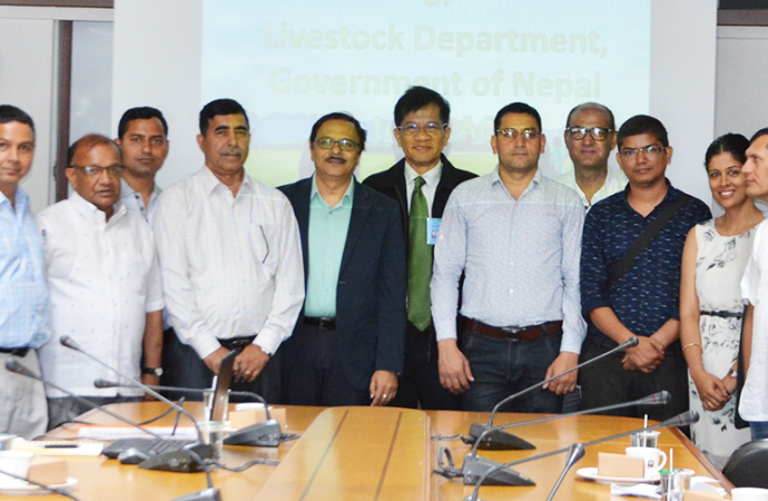 Visit of the Delegates to APRACA from Department of Livestock Services, Government of Nepal during 3-10 June 2018.