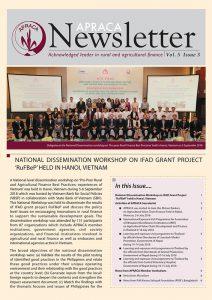 APACA Newsletter vol.5 issue3