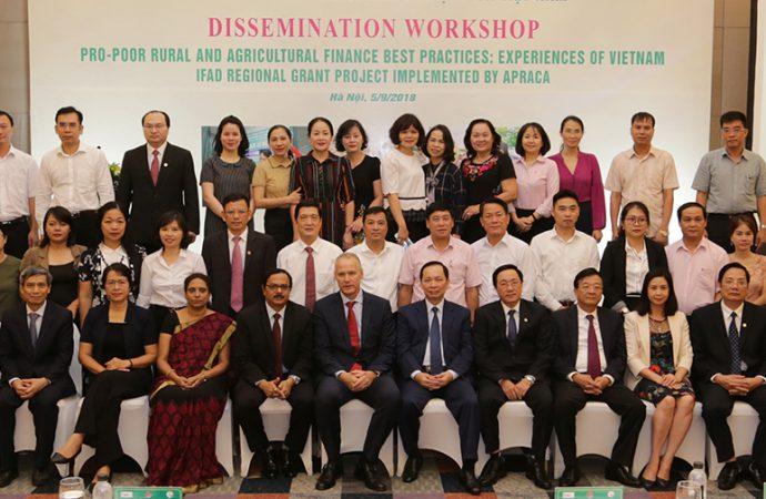 Delegates at the APRACA-VBSP Dissemination workshop held in Hanoi, Vietnam on 5 September 2018