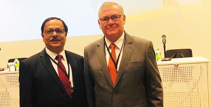 APRACA Secretary General is with Secretary General of CICA to participate in the World Congress in Agricultural Risk Management Being held in Bern, Switzerland during 21-25 October 2018.