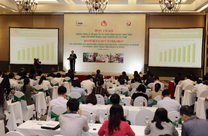 "Dissemination Workshop on ""Pro-poor rural and agricultural finance best practices: Experiences of Vietnam"""
