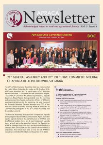 APACA Newsletter Vol.5 issue4