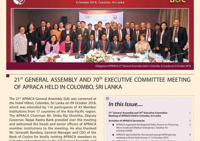 APACA Newsletter Vol.5 issue4