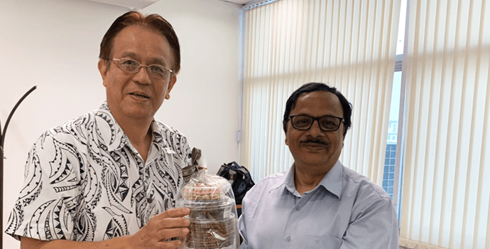 Mr. Masanami Izumi, Special Advisor to SEAFDEC Secretariat visited APRACA Secretariat on 21 January 2020 to discuss on potential collaboration with SAFEDEC to implement the FAO-APRACA project in Philippines.