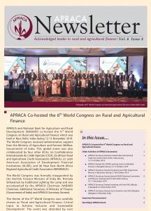 APRACA Newsletter Vol.6 Issue 4