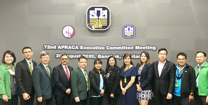 Team-BAAC and Team-APRACA after successfully organizing 72nd EXCOM Meeting