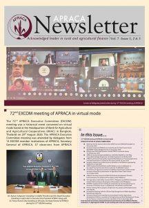 APRACA Newsletter Vol.7 Issue 1, 2 & 3