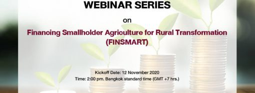 Financing Smallholder Agriculture for Rural Transformation (FINSMART)