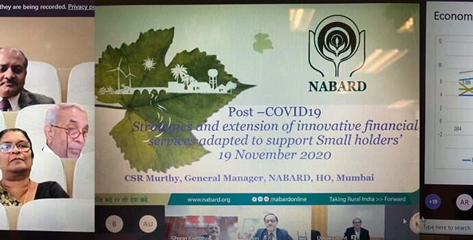 Post-Covid19 Strategies and extension of innovative financial services adapted to support small holders | 19 November 2020